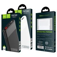 Hoco 12000mAh with digital display Micro-USB input and dual USB 2.1A output.