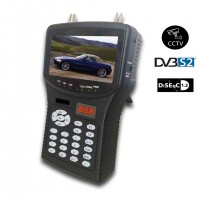 DIGITAL DVB S/S2 MPEG4 HANDHELD CCTV & SATELLITE HD MONITOR