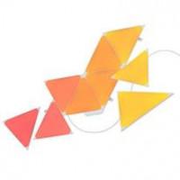nanoleaf  Light Panel kit Shapes Triangles Starter Kit Smart WiFi LED Panel System w/ Music Visualizer - 9 Pack