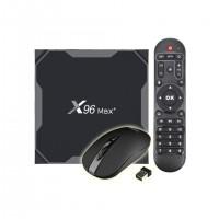 X96 MAX Plus Amlogic S905x3 Android 9.0 8K  TV Box 4GB/64GB 2.4G+5.8G WiFi Bluetooth 1000Mbps LAN USB3.0 Youtube Netflix Google Play
